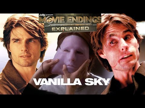 VANILLA SKY  Movie Endings Explained 2001 Tom Cruise, Cameron Crowe tasy film