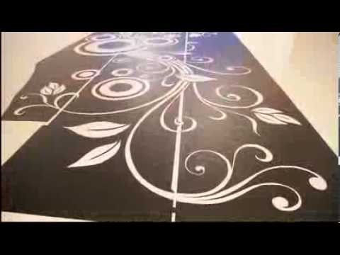 Sol resine epoxy pose decor 001pardoseli podele for Resine deco