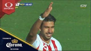 Doblete de Eduardo Herrera | Necaxa 2 - 1 Pachuca | Clausura 2019 - J15 | Presentado por Corona