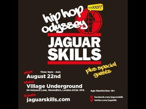 Jaguar Skills: 300 hip hop tracks in 3 hours