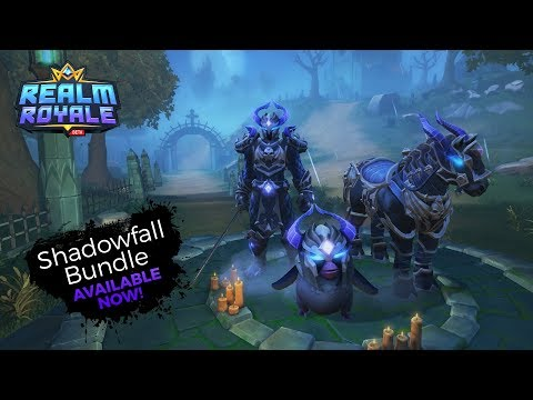 Realm Royale - Shadowfall Bundle Available Now!