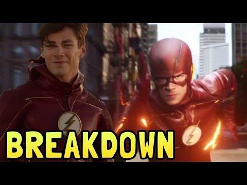 The Flash Season 4 Episode 1 Breakdown and Flash Easter Eggs