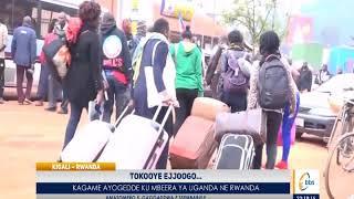 Pulezidenti Paul Kagame ayogedde ekyamugazza ensalo, ejjoogo lya Uganda libadde lisusse