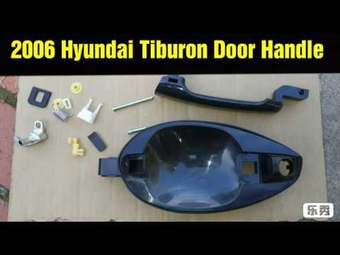 2006 Hyundai Tiburon Door Handle Assembly Youtube