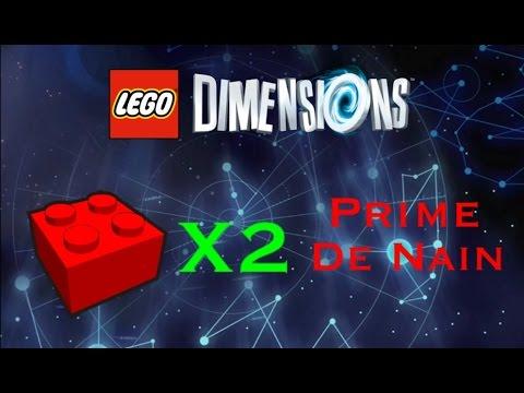 lego dimensions brique rouge prime de nain. Black Bedroom Furniture Sets. Home Design Ideas