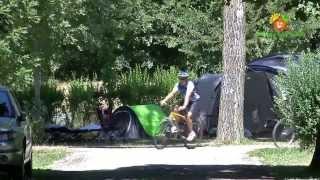 Camping Sites et Paysages Les 2 Vallées en Aveyron à Nant