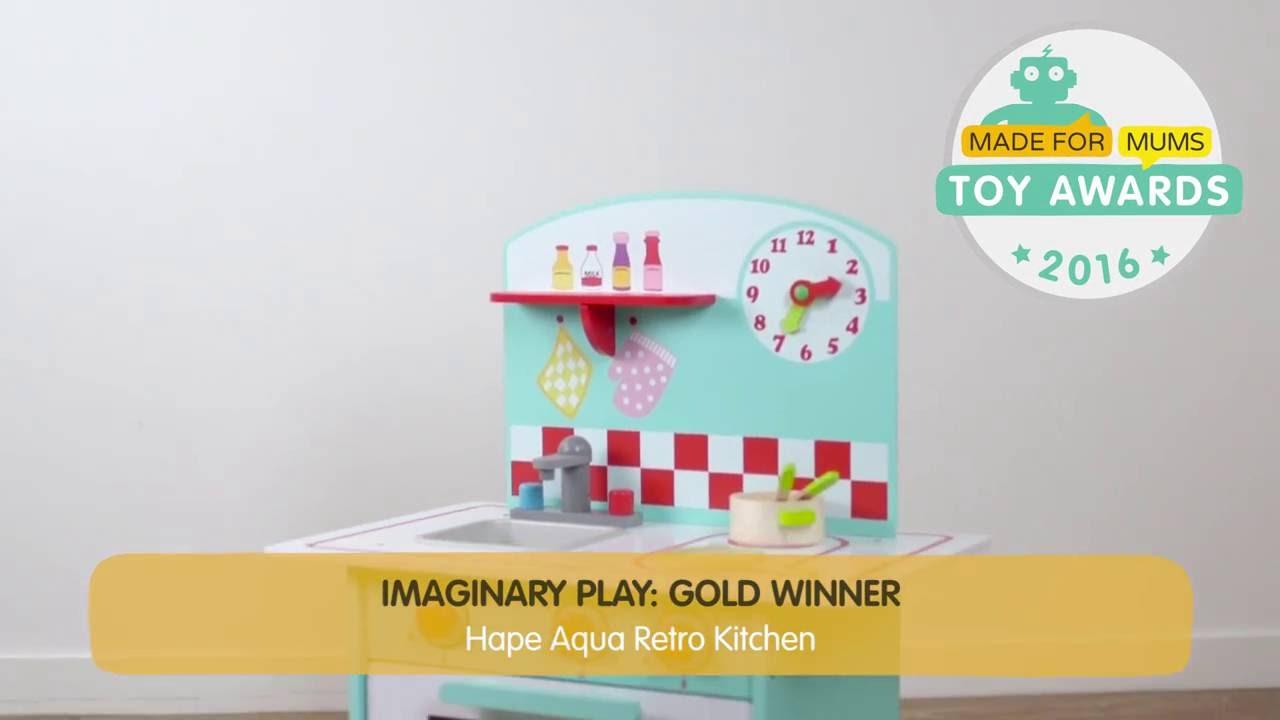 Hape Aqua Retro Kitchen | Gold winner - YouTube