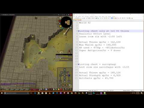 OSRS Ironman Guide to Pyramid Plunder | Thieve Guide | xp/hr Multiple Methods |