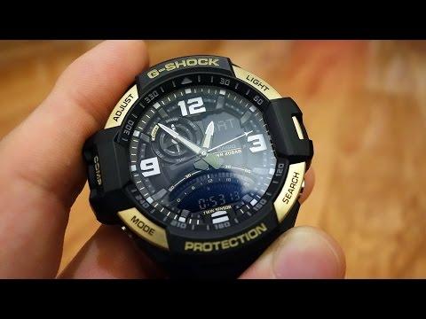 Casio G-Shock Gravitymaster Twin Sensor Aviation Watch (GA-1000-9G) - Perth WAtch #30