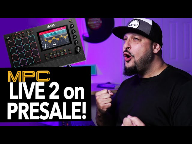 MPC Live 2 is Available for Order! I'm HYPE!