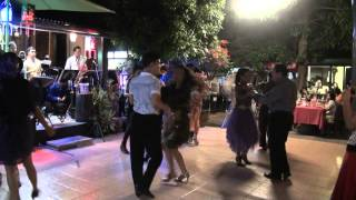 Suntaraporn music and Thai traditional dance in Somsiri Birthday 2013