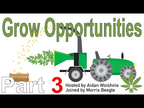 Hemp Offers Opportunities to Grow?    P3 Morris Beegle w WCR