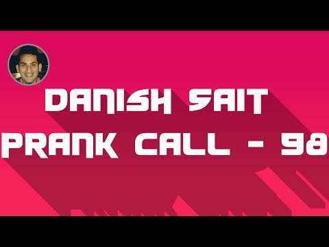 Will You Buy This Stupid Center Table - Danish Sait Prank Call 98