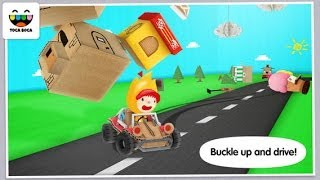Toca Cars Android & iOS GamePlay