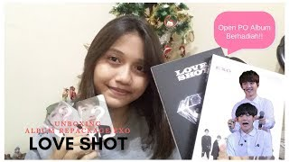 UNBOXING REPACKAGE EXO LOVE SHOT INDONESIA