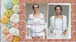 Узор для жакета крючком - Crochet Jacket Pattern
