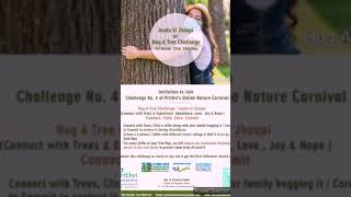 Join Jaadu Ki Jhappi or Hug A Tree Challenge by Prithvi Innovations🌎🌎🌎🌎