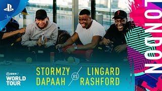FIFA 19 World Tour - Lingard & Rashford vs Stormzy & Dapaah | PS4
