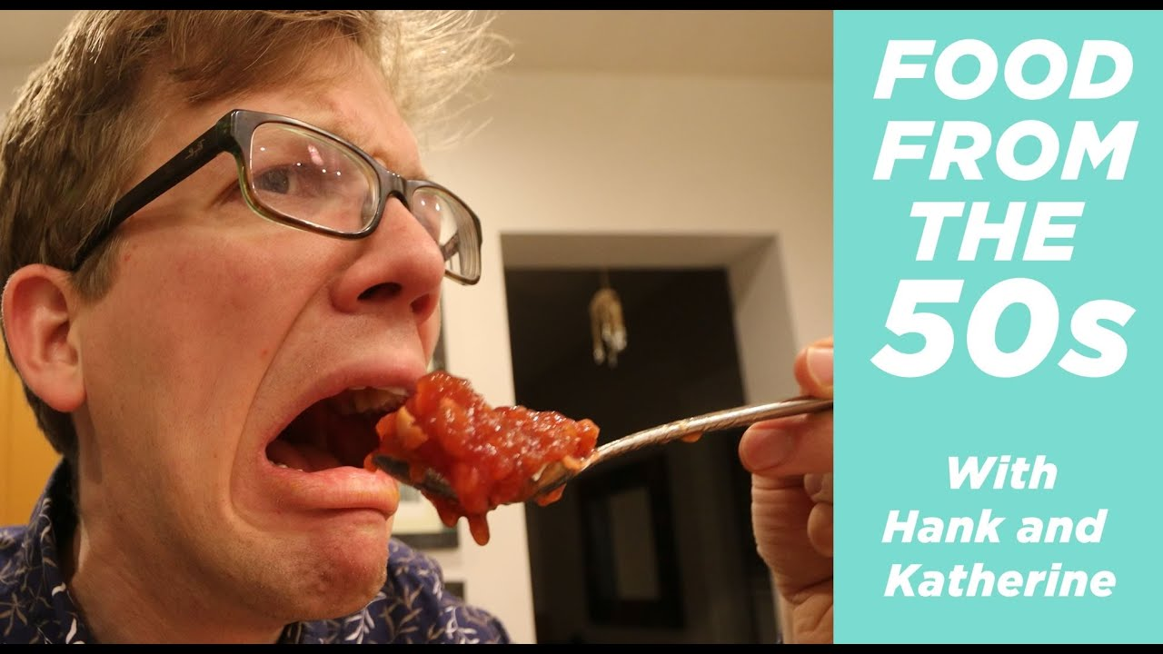 eating weird food from the 50s with katherine youtube
