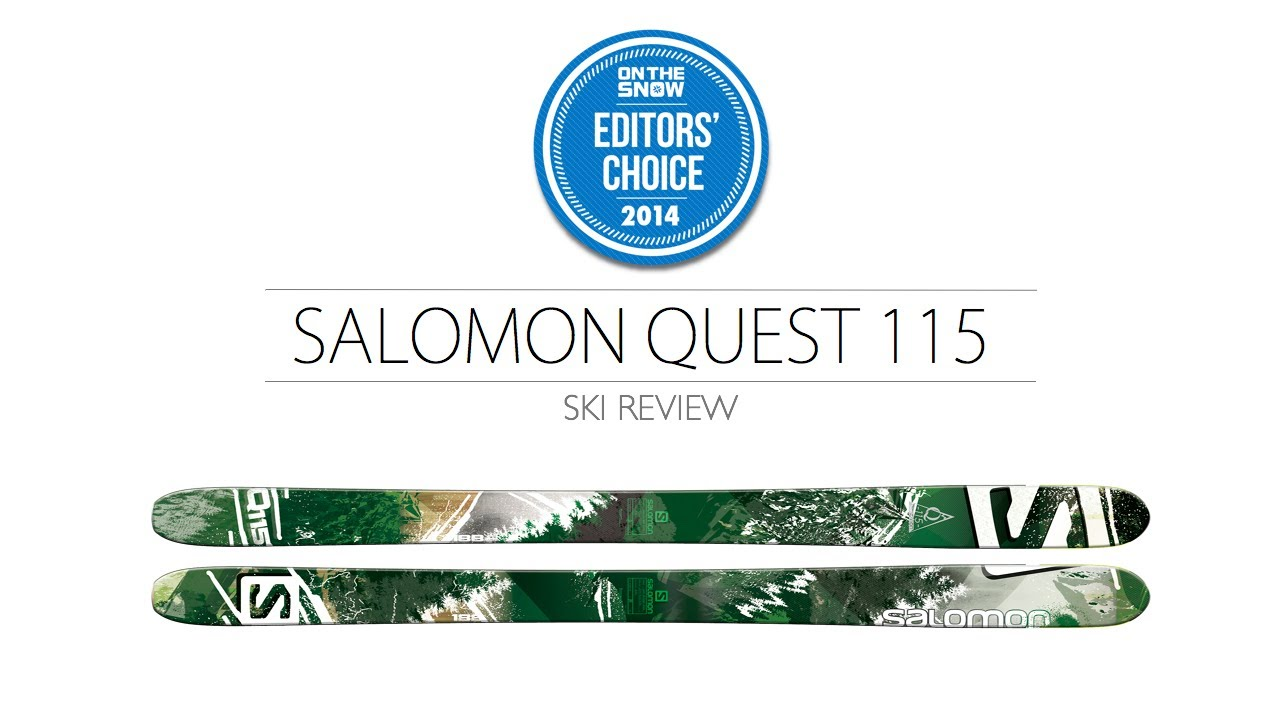 Salomon Q 115 Mens Powder Skis