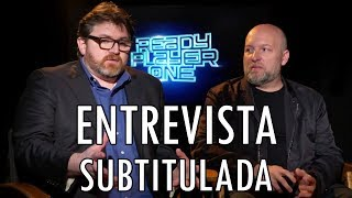 Ready Player One - Ernest Cline y Zak Penn - Entrevista Subtitulada