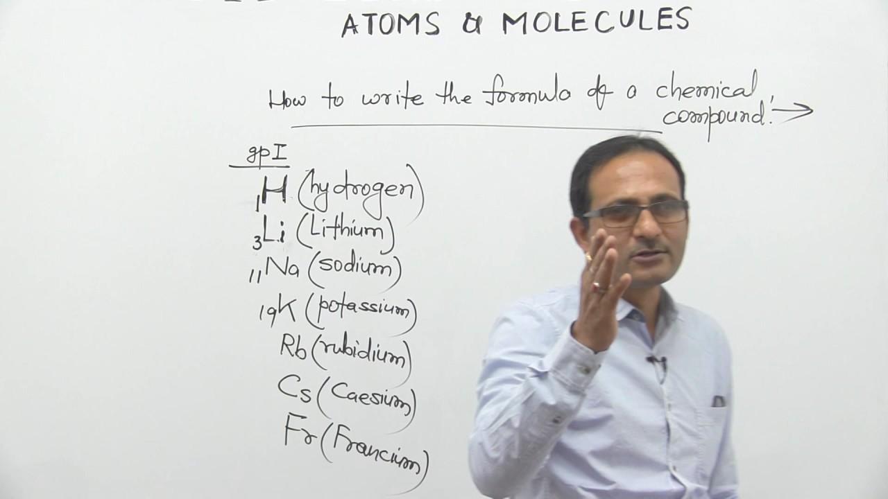 1 writing symbols of elements atoms molecules anupam kumar 1 writing symbols of elements atoms molecules anupam kumar buycottarizona Choice Image
