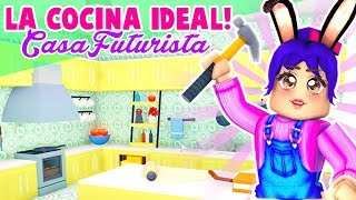 Gambar cover ❤️ MI COCINA IDEAL EN LA CASA FUTURISTA - ADOPT ME - ROBLOX