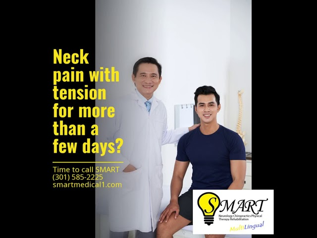 Neck pain with tension for more than a few days?