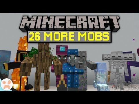 26 MORE MOBS In Minecraft!   Creatures Plus Datapack