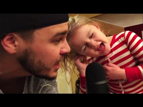 5 year old slays 'TRUE COLORS' in Daddy Daughter Duet! |
