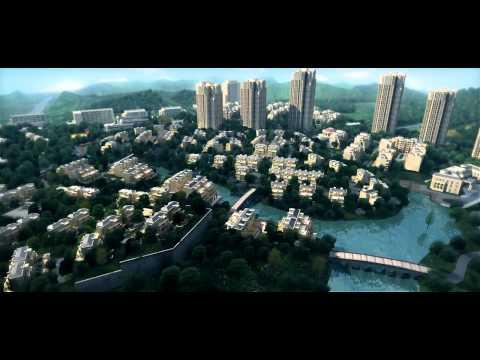 "architectural animation : ""Cloud City"" Chongqing China"