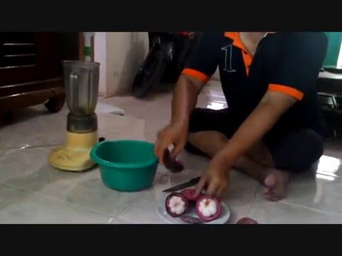 Video cara membuat jus kulit manggis