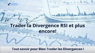 Trader la Divergence RSI et plus encore!