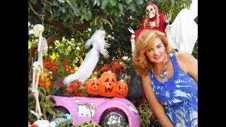 Decoraciones de Otoño y Halloween en los Estados Unidos 2018 | Vitrinas de Miami