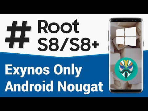 Root Exynos based S8 or S8+ using Odin [Windows] [Walkthrough] - YouTube