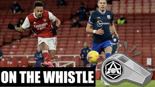 On the Whistle: Arsenal 11 Southampton  'A decent point, I guess. But...'