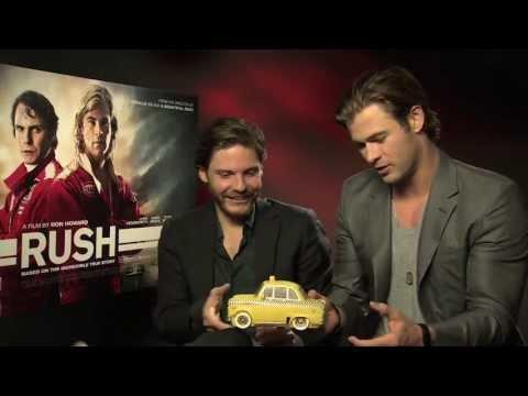 Daniel Brühl And Chris Hemsworth Vs. Empire's Rush Quiz  Empire Magazine