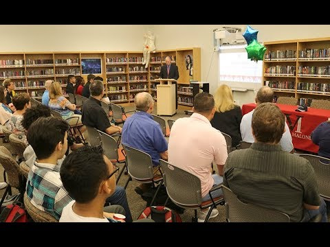 Vernon Malone College and Career Academy thanks business partners