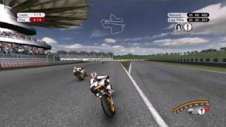 Racing MotoGP 08 Online at Sepang