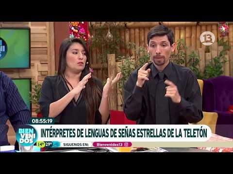 ¡Nos visitaron los Intérpretes de señas de la Teletón! | Bienvenidos