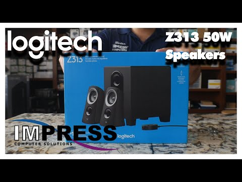 Unboxing The Logitech Z313 Speaker System From Impress Computers