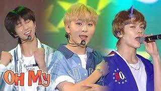Gambar cover [HOT]Seventeen - Oh My! , 세븐틴 - 어쩌나 Music core 20180728