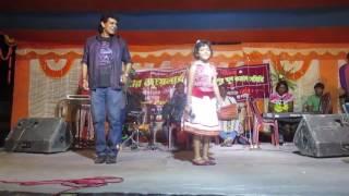 Little singer.....hits santali stage program