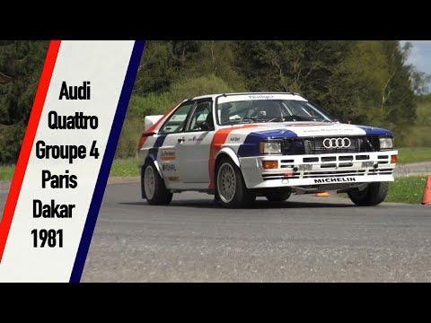 Audi quattro Groupe 4 Privée Paris-Dakar 1981
