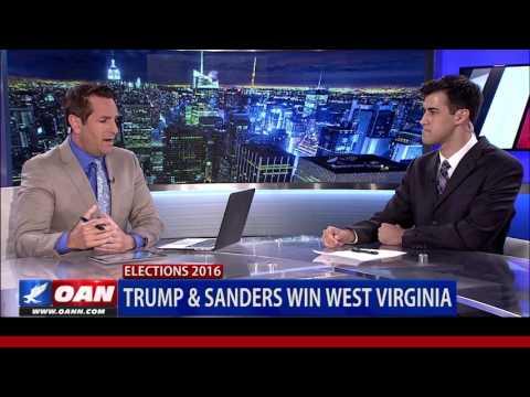 Donald Trump Wins West Virginia & Nebraska
