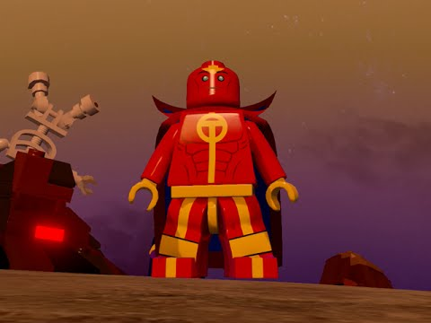 LEGO BATMAN 3 - Red Tornado FREE ROAM GAMEPLAY