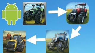 Evolution of farming simulator  Android