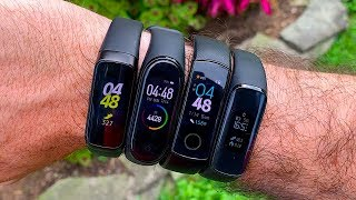 Galaxy Fit vs Mi Band 4 vs Honor Band 4 vs Galaxy Fit e 1,000 Step Test!