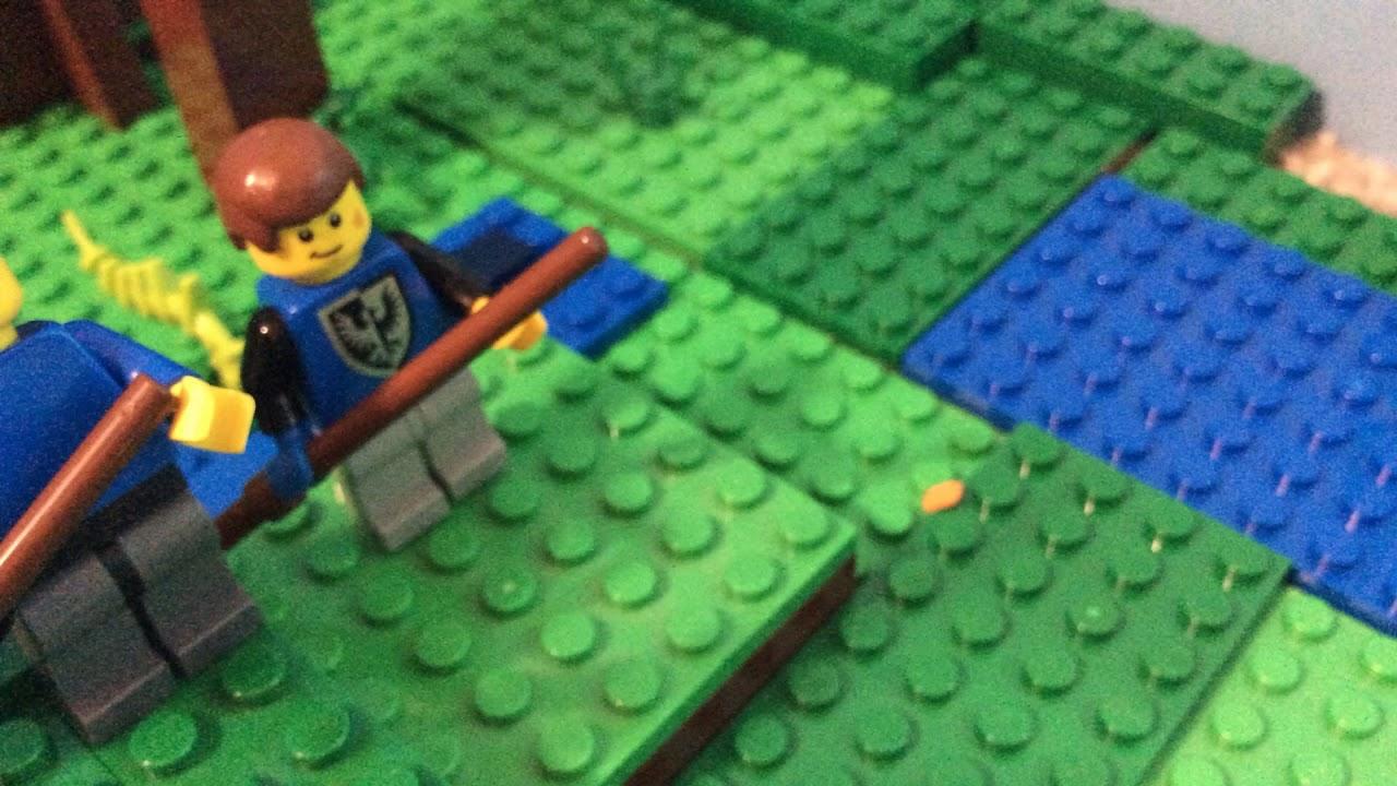 The battle of Gettysburg LEGO