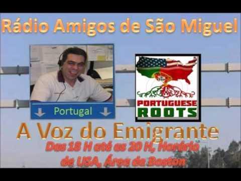 Radio Amigos de Sao Miguel A Voz do Emigrante 30 Março 2016